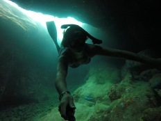 Cave Diving Brewers Bay, St. Thomas