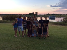 The crew, Maun, Botswana