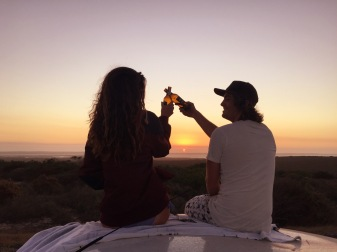 Cheers to adventure. Langebaan, SA