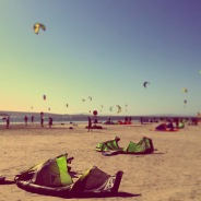 Learning to KiteBoard in Langebaan, SA