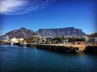 Table Mountain from Waterfront