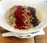 These amazing things are called Smoothie Bowls, you can get them at NU in Cape Town