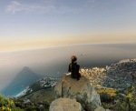 Overlooking Cape Town from Lions Head