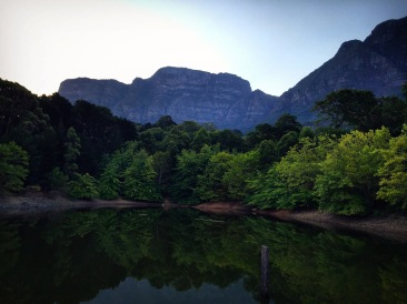 Hidden Dam in Newlands, Cape Town