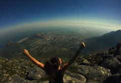 Conquered. Table Mountain