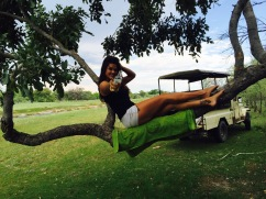 Hangin Around in Maun, Botswana