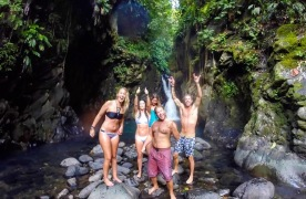 Waterfall chasing in Guadeloupe